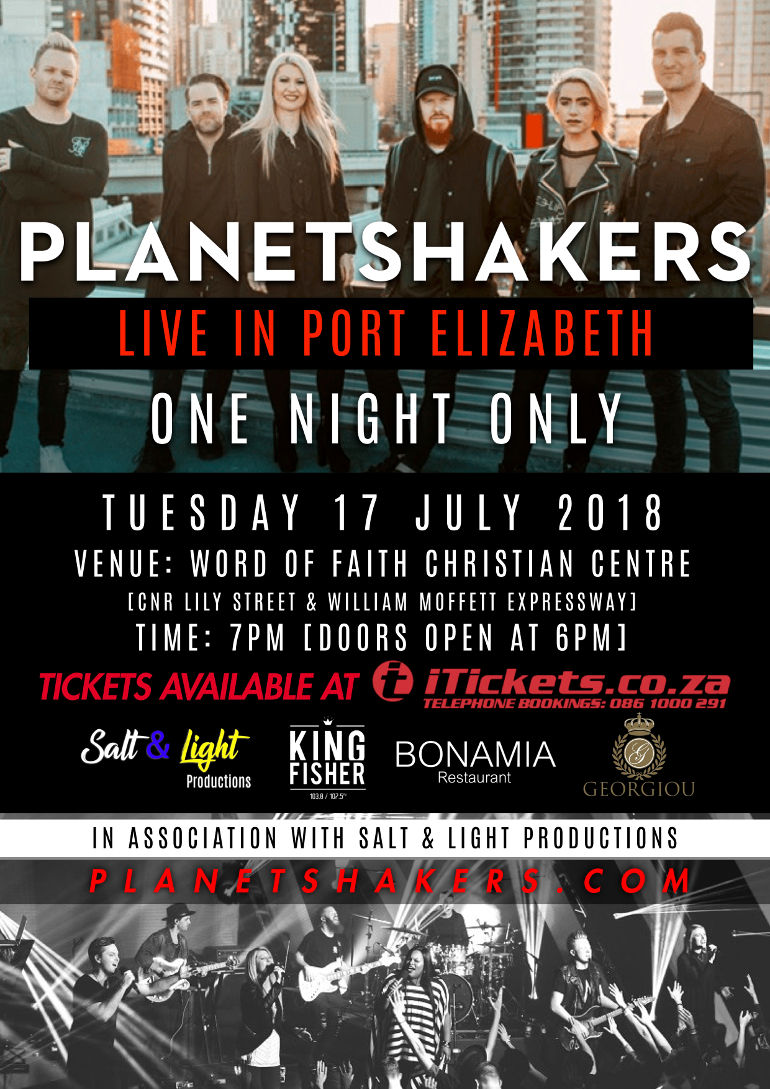 Planetshakers One Night only